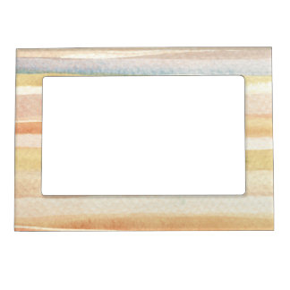 Watercolor art background, texture magnetic picture frames
