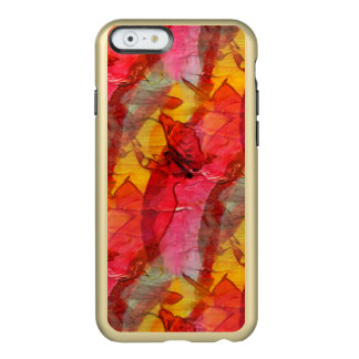Watercolor art red yellow incipio feather® shine iPhone 6 case