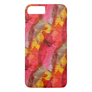 Watercolor art red yellow iPhone 8 plus/7 plus case