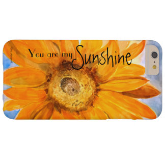 Watercolor Art Sunflower iPhone Case