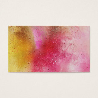 Watercolor Background Business Cards
