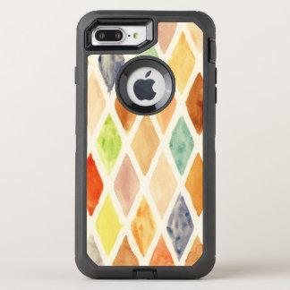 Watercolor background OtterBox defender iPhone 8 plus/7 plus case