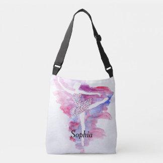 Watercolor Ballerina Dance Bag