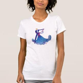 Watercolor Ballroom Dancers T-Shirt