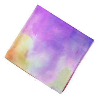 Watercolor Bandana
