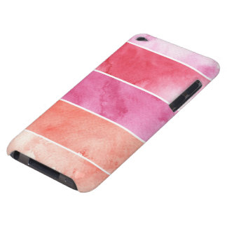 watercolor banners background for your design Case-Mate iPod touch case