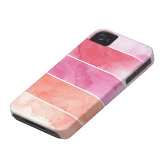 watercolor banners background for your design iPhone 4 Case-Mate case