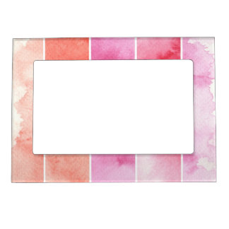 watercolor banners background for your design magnetic frame
