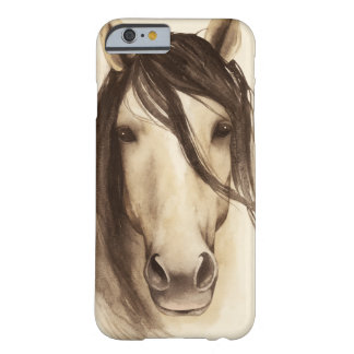 Watercolor Barn Animals | Horse Barely There iPhone 6 Case
