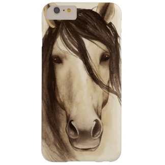 Watercolor Barn Animals   Horse Barely There iPhone 6 Plus Case