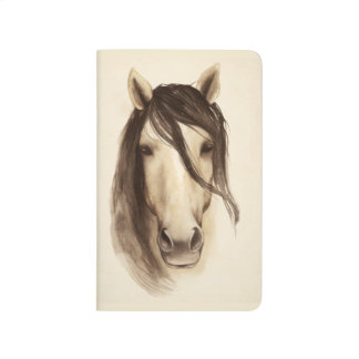 Watercolor Barn Animals | Horse Journal