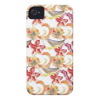 Watercolor Batik Inspired iPhone Case iPhone 4 Cover
