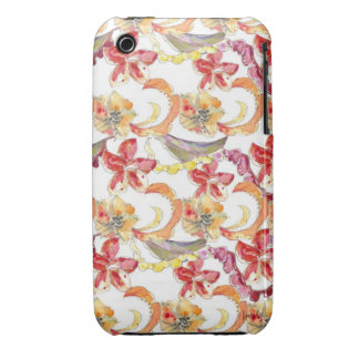 Watercolor Batik Inspired iPhone Case iPhone 3 Case-Mate Case