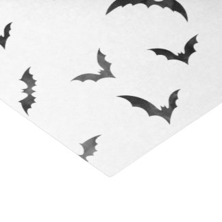Watercolor Bats Halloween Tissue Paper