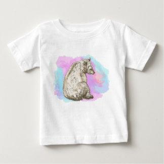 Watercolor Bear Baby T-Shirt