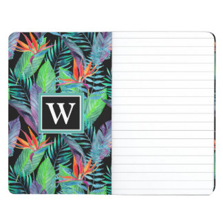 Watercolor Bird Of Paradise | Add Your Initial Journal