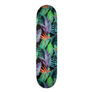 Watercolor Bird Of Paradise Skate Board Decks