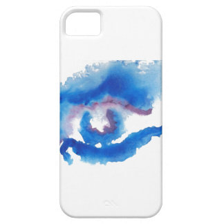 Watercolor Blue Eye CricketDiane Art Case For The iPhone 5