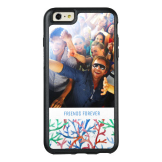 Watercolor Blue Starfish | Your Photo & Text OtterBox iPhone 6/6s Plus Case