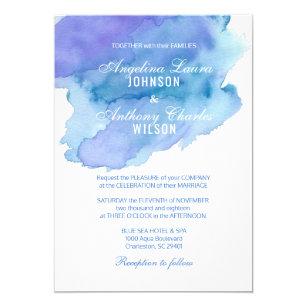 Purple And Blue Weding Invitations 032 - Purple And Blue Weding Invitations