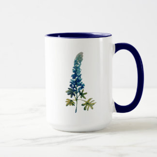 Watercolor Bluebonnet Coffee Mug