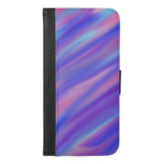 Watercolor Blues iPhone 6/6s Plus Wallet Case
