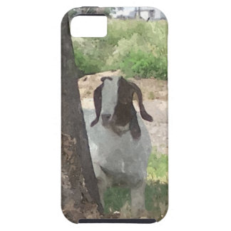 Watercolor Boer Goat iPhone 5 Cover