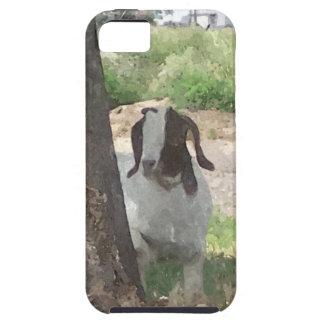 Watercolor Boer Goat Tough iPhone 5 Case