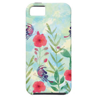 watercolor Botanical garden VI Tough iPhone 5 Case