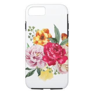 Watercolor Bouquet of Flowers iPhone 7 Case -Tough