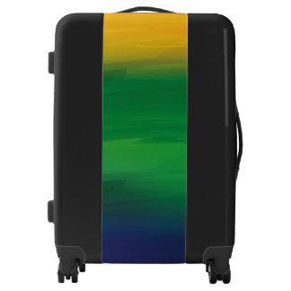 Watercolor Brazil Design Luggage
