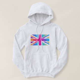 Watercolor British Flag Sweatshirt