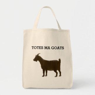 Watercolor Brown Totes Ma Goats Bag