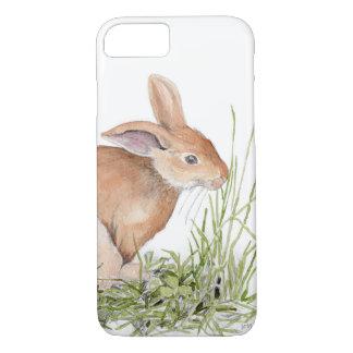 Watercolor Bunny Rabbit iPhone Cover