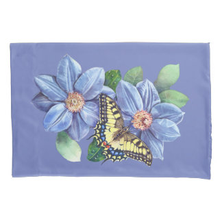 Watercolor Butterfly (2 sides) Pillowcase