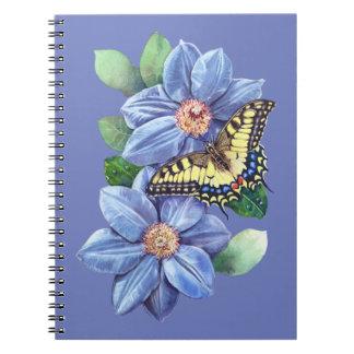Watercolor Butterfly Notebook