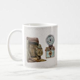 watercolor camera 3 coffee mug