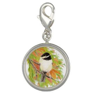 Watercolor Chickadee Bird Animal Nature Art