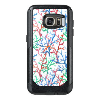 Watercolor Coral Pattern OtterBox Samsung Galaxy S7 Case