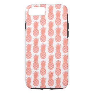 Watercolor Coral Pineapple Phone Case
