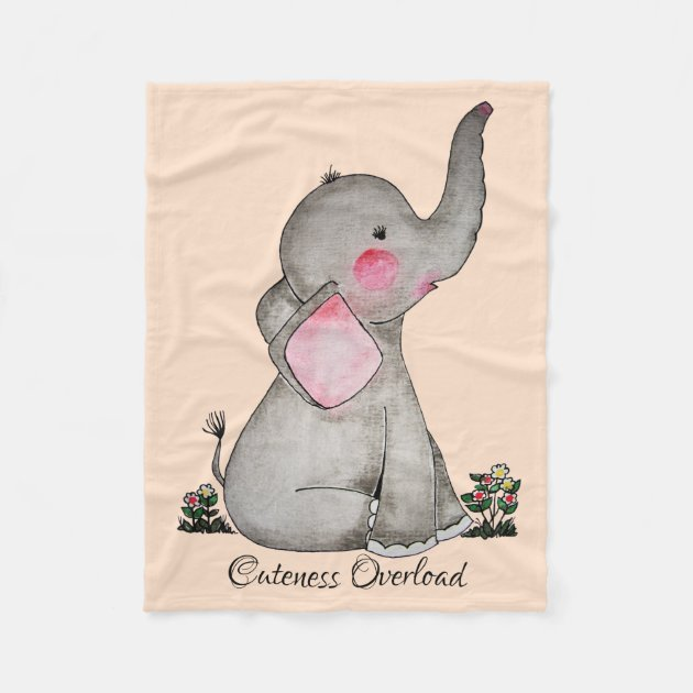 HappyBABY™: Comfy Elephant Pillow in
