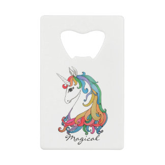 Watercolor cute rainbow unicorn