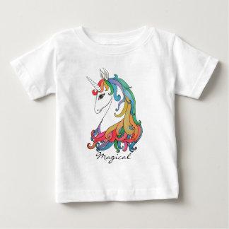 Watercolor cute rainbow unicorn baby T-Shirt