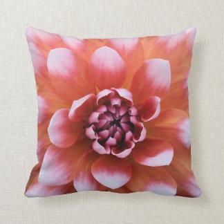 Watercolor Dahlia Pillow