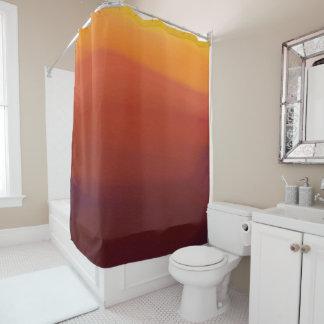 Watercolor Design Shower Curtain