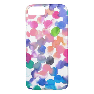 Watercolor Dots iPhone 8/7 Case