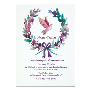 Religious Invitations Announcements Zazzlecouk