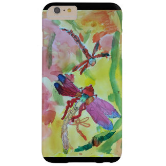 Watercolor dragonflies barely there iPhone 6 plus case