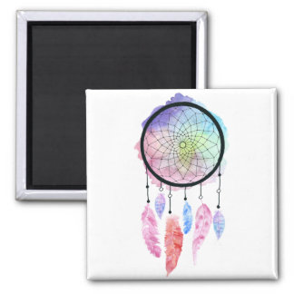 Watercolor Dreamcatcher Magnet