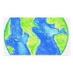 WATERCOLOR EARTH PACK OF STANDARD BUSINESS CARDS